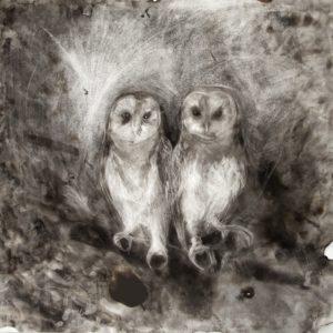 The Owl Sanctuary Giclee Print
